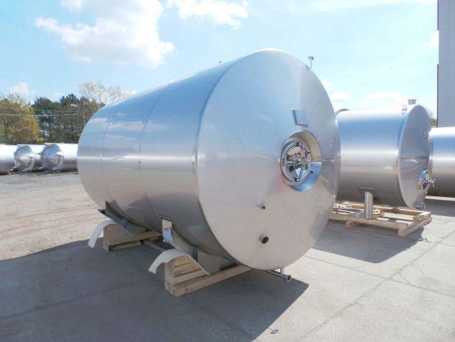 1 x 13.5m³ AISI304 BBT; warmtewisselaar; isolatie; 2bar druk op de binnentanks PED CE